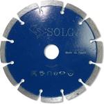 Диск алмазный professional сегментный по железобетону (150х22.2 мм) solga diamant 13703150