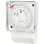 Электромеханический таймер ORBIS MINI-T-D (OB251032), 1-канал (сутки); мин.вр.перекл.15 мин.