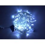 Светодиодная гирлянда Нить 10 м, 220В, соединяемая, постоянного свечения, прозрачный провод, белая