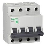 Автоматический выключатель Schneider Electric EASY 9 4П 6А B 4,5кА 400В