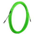 Протяжка кабельная из плетеного полиэстера Fortisflex PET d4mm L10m зеленый