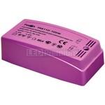 Трансформатор электронный понижающий, 230V/12V 250W пластик розовый, TRA110