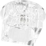 Светильник встраиваемый с белой LED подсветкой JD37 потолочный JCD9 G9 прозрачный