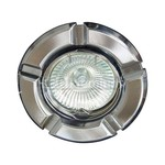 Светильник встраиваемый 098T-MR16 потолочный MR16 G5.3 титан-хром