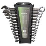 110250 Набор ключей рожково-накидных DIN 3113 Haupa