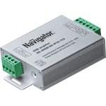 Усилитель для светодиодной ленты Navigator IP20 180Вт-12В/360Вт-24В 105х64х23.5
