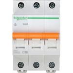 Выключатель автоматический 3-пол.  16A C 4,5кА Domovoy Schneider Electric