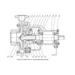 Корпус для насоса 2К100-80-160