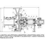 Кронштейн для насоса СМ150-125-315