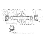 Ротор для насоса Д200-36