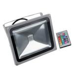 Светодиодный прожектор 50W-4200Lm-RGB