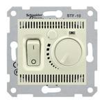Термостат для пола Sedna с датчиком 5-30 градусов, 10А/250В бежевый
