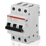 Автоматический выключатель модульный ABB ABB S203 Автоматический выключатель 3P 10А (С) 6kA (2CDS253001R0104)