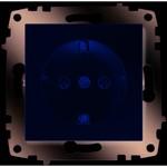 Розетка силовая ABB ABB Cosmo Крем Розетка с/з (619-010300-217)