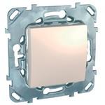 Выключатель/переключатель/диммер Schneider Electric Schneider Electric SE Unica Беж Переключатель 1-клавишный (сх.6) (MGU5.203.25ZD)