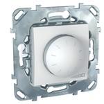 Выключатель/переключатель/диммер Schneider Electric Schneider Electric SE Unica Бел Светорегулятор поворотный 40-400W для л/н и г/л с обмот. тр-ром, перекл (MGU5.511.18ZD)