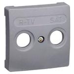Накладка на розетки R-TV-SAT Simon 73 Loft, алюминий