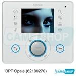 """Абонентское устройство OPALE с цветным дисплеем 3,5"""" и сенсорными клавишами, цвет белый лед"""