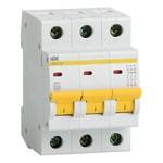 Автоматический выключатель ВА47-29 3Р 3А 4,5кА характеристика D ИЭК