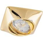 Светильник встраиваемый DL6046 потолочный MR16 G5.3 золото поворотный