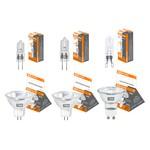 Лампа капсульная галогенная JC - 50 Вт - 12 В - GY6.35 прозрачная TDM