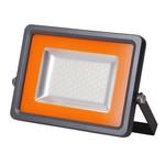 Прожектор ультратонкий (LED) 100Вт 100 градусов 9000Лм дневной 6500К IP65 серый 355x290x47мм Jazzway