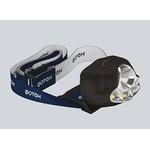Фонарь на голову (LED*1) пластиковый черный 3 режима (3хr03 в комплекте) Фотон