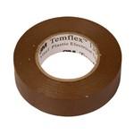 Изолента ПВХ 19мм х 20м коричневая 3М