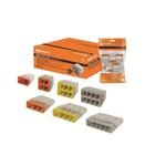 Строительно-монтажная клемма КБМ-2273-246 (2,5мм2) с пастой (5 шт/упак) TDM
