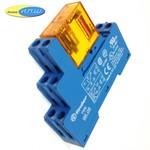405280240000 реле 8А упр. 24VAC, с розеткой на дин рейку - 9505SMA - finder