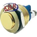 GQ16H Антивандальная кнопка D16мм, без индикации, с выступающим толкателем