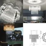 Diadema SP C1 Pendant light светильник Vistosi, E27 8x60W