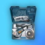 """Машина шлифов. угловая (болгарка) """"Bort"""" BWS-860-К № 28109008 (860 Вт 11000об/мин 125мм) диски, кейс"""