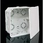 Коробка ПВХ с крышкой 107х107х50 мм