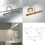 Flue Wall Light Linea Light светильник, Depends on lamp size