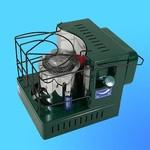 """Печь на жидком топливе """"Мини"""" ПО-1,8 кВт/ч, (Солярогаз)"""