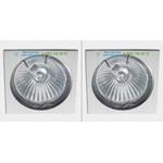 ZIA35C.0 PSM Lighting raw natural aluminium, светильник > Ceiling lights > Recessed lights