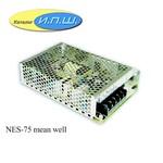 NES-75-12 mean well Импульсный блок питания 75 W, 12V, 0-6.2A