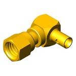 Розетка кабельная угловая серии SMC для полужесткого кабеля