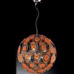 IDL Mina 243/6S ARANCIO, Подвесной светильник