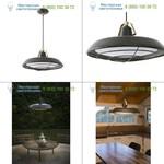 Faro 66210 PLEC LED Old brown pendant lamp, светильник