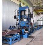 Автоматизированный сборочный стан для изготовления двутавровых балок