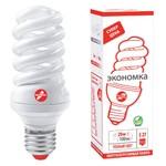 Энергосберегающая лампа 20 ВТ, ТМ Экономка