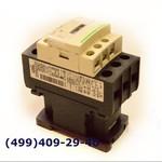 LC1D25P7 Контактор 3 полюса, 25 Ампер индуктивная, 40 Ампер активная нагрузка, для двигателя 11 kW, доп. контакт NO+NC