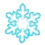 Светодиодная снежинка 61 х 51 см