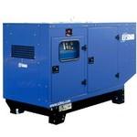 Дизельная трехфазная электростанция SDMO Montana J110K в кожухе