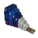 Зажимы наборные мостиковые ЗН27-2,5М25, ЗН27-4М32, ЗН27-6М40, ЗН27-10М63, ЗН27-16М80, ЗН27-25М100, З