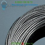 High-Line Copper Cable - 10 Gauge, Tin Plated Transparent Insulated Bruck Lighting