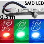 5050-RGB Светодиодная гибкая лента: SMD 5050 5М, 150 led 12Vdc 7.2w*1metr