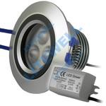 Точечный светильник арт. N10. Светодиодный, встраиваемый в подвесной потолок. Замена галогенкам 35Вт